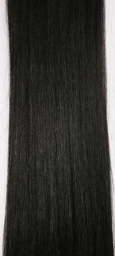 Clip in vlasy - uhlově černá #1