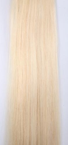 Clip in vlasy - platinově blond #60