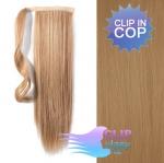 Clip in cop 50cm - nejsvětlejší hnědá #18