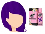 Barva na vlasy Crazy Color HOT PURPLE 62 100 ml