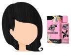 Barva na vlasy Crazy Color BLACK 30 100 ml