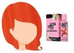 Barva na vlasy Crazy Color ORANGE 60 100 ml
