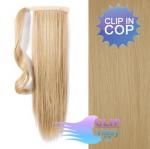 Clip in cop 60 cm kanekalon - přírodní blond #22
