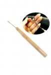 Dřevěný háček na metodu micro ring