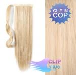 Clip in cop 60 cm - nejsvětlejší blond #613