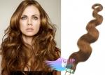 Vlnité tape in 50cm vlasy REMY - světle hnědá #12